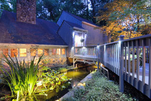 Residential Landscape Lighting in Connecticut