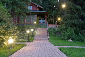 Outdoor Lighting Installation in Connecticut